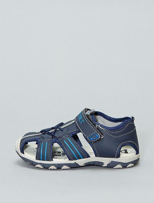 Sandales sport scratch                             bleu navy Garçon