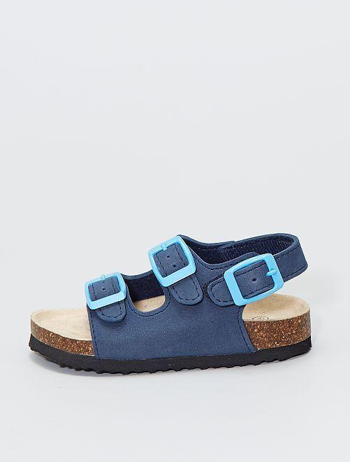 Sandales style anatomique                                         bleu