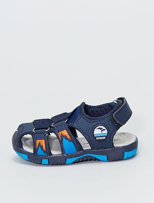 Sandales style sport                             bleu navy