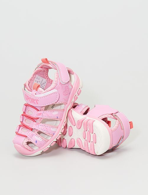 Sandales style sport                             rose