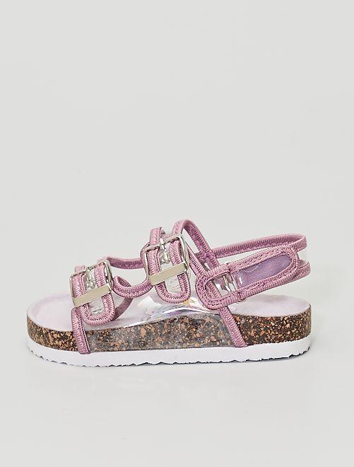 Sandales transparentes                             blanc