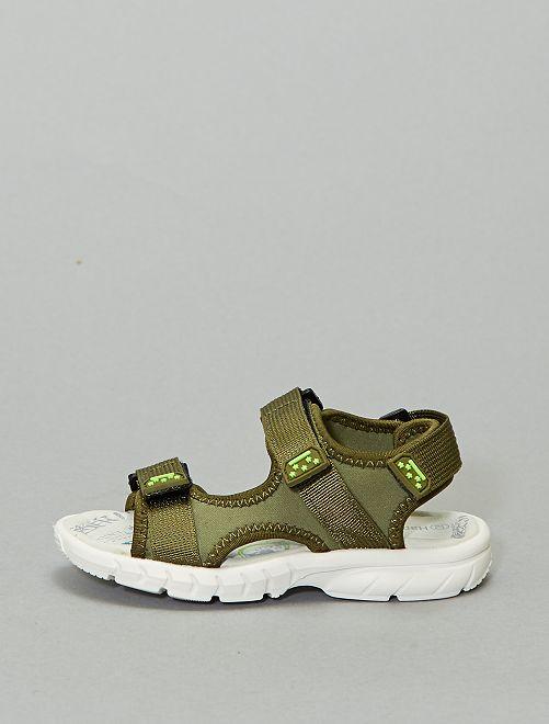 Sandales type sport                             kaki