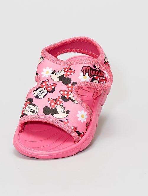 Sandales type sport 'Minnie Mouse' de 'Disney'                             rose