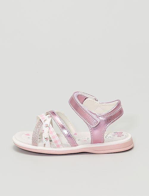 Sandales type sport                             rose