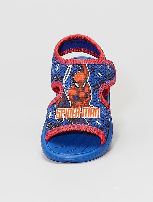 Sandales type sport 'Spider-man' 'Marvel'                             bleu