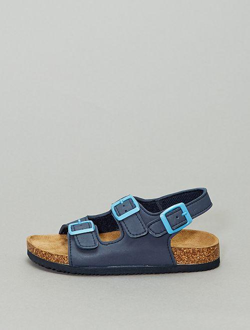 Sandales unies                     bleu