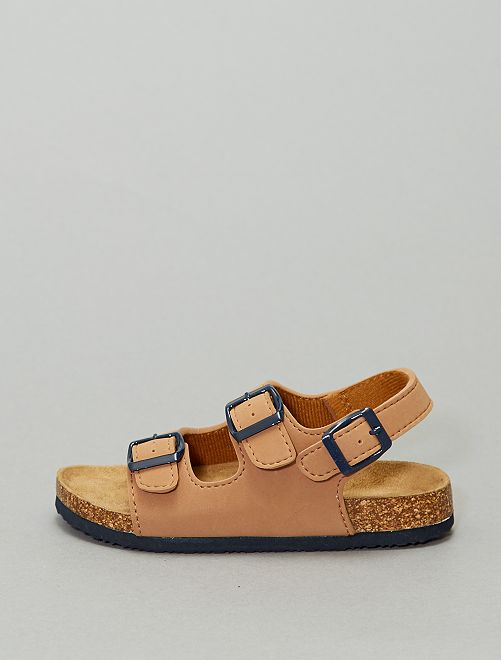 Sandales unies                                         camel