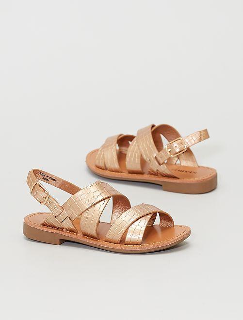 Sandales vernies                                         rose