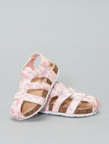 3797dfc7407ea Sandalettes imprimées et pailletées - Kiabi