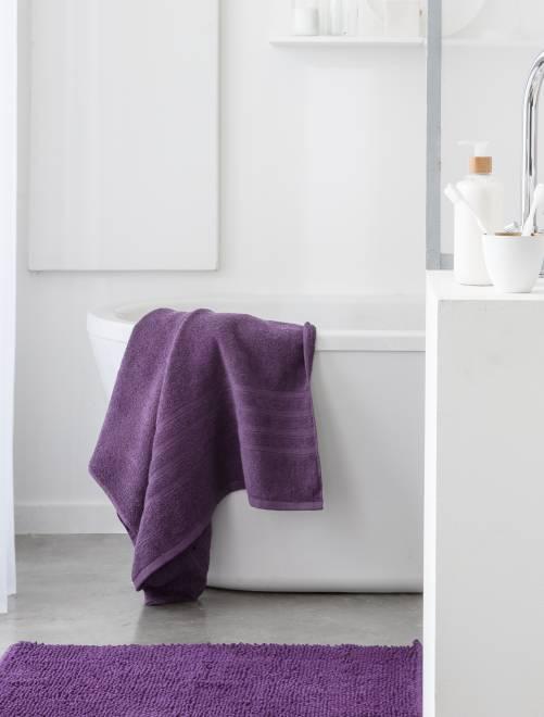 Serviette de bain 50 x 90 cm 500gr                                                                                                                             figue Linge de lit
