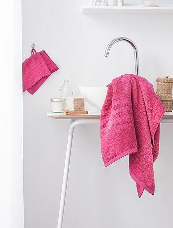 Serviette de bain 50 x 90 cm 500gr - Kiabi