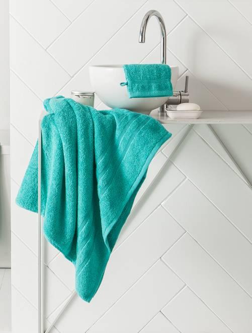 Serviette de bain 50 x 90 cm 500gr                                                                                                                                                     menthe