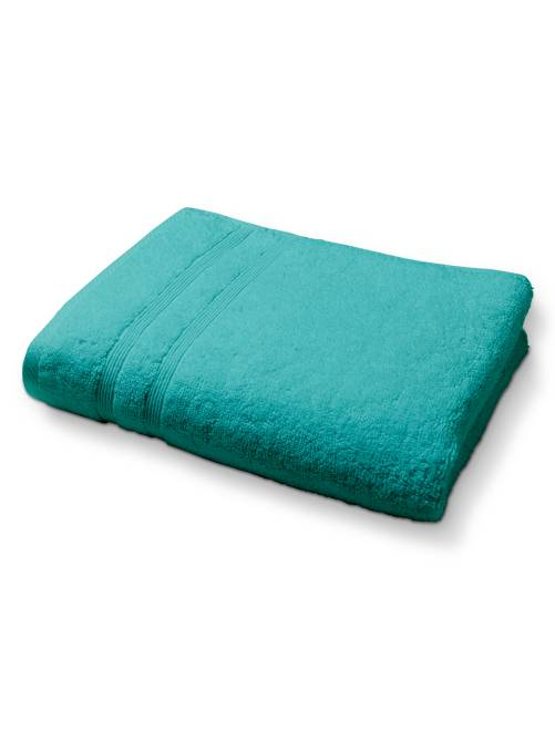 serviette de bain 50 x 90 cm 500gr linge de lit blanc. Black Bedroom Furniture Sets. Home Design Ideas
