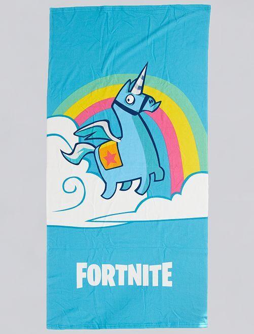 Serviette de plage 'Fortnite'                             bleu