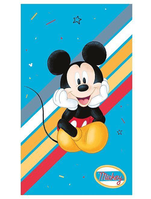 Serviette de plage 'Mickey'                             bleu