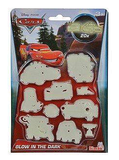 Garçon 3-12 ans Set 20 stickers phosphorescents 'Cars'