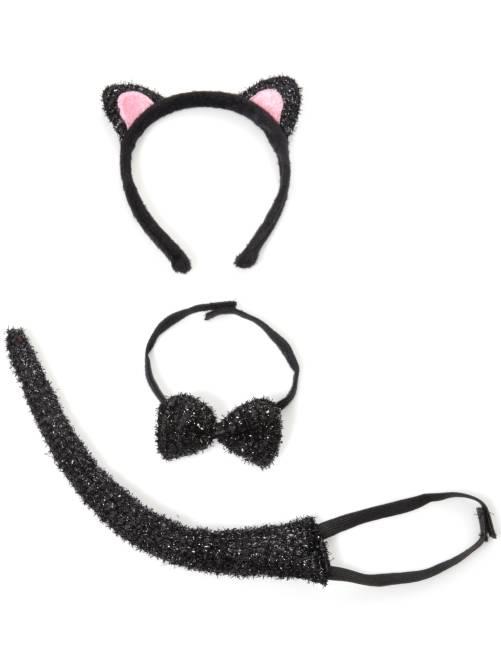 Set chat enfant                             noir