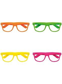 Set de 4 lunettes fluo - Kiabi