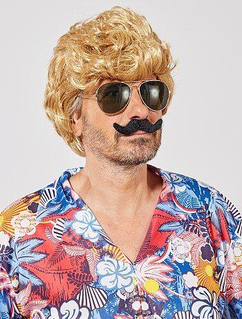 Set de 6 moustaches autocollantes