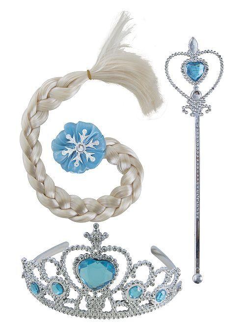 Set de Reine des Glaces                             bleu