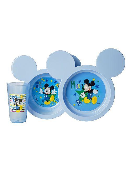 Set de repas 3 pièces 'Minnie'                                         bleu