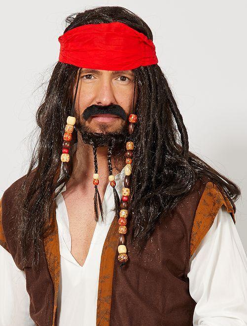 Set déguisement pirate                             noir