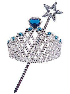 Jouets - Set 'diadème' et 'baguette' princesse ou fée