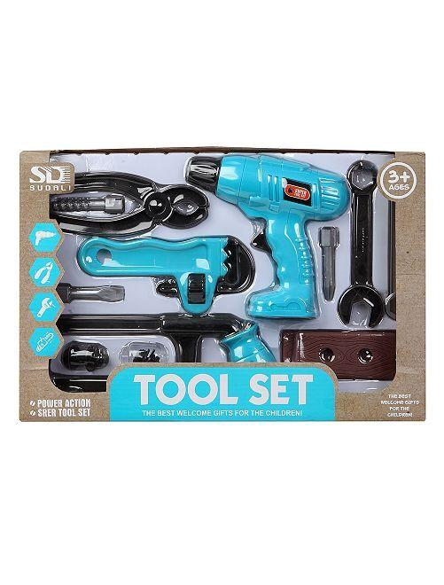 Set d'outils                             bleu