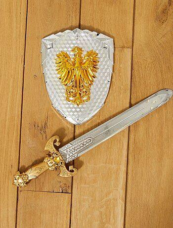 Set épée et bouclier chevalier