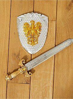Enfant Set épée et bouclier chevalier