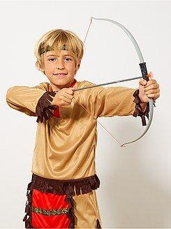 Garçon 4-12 ans Set indien arc à flèches et couteau
