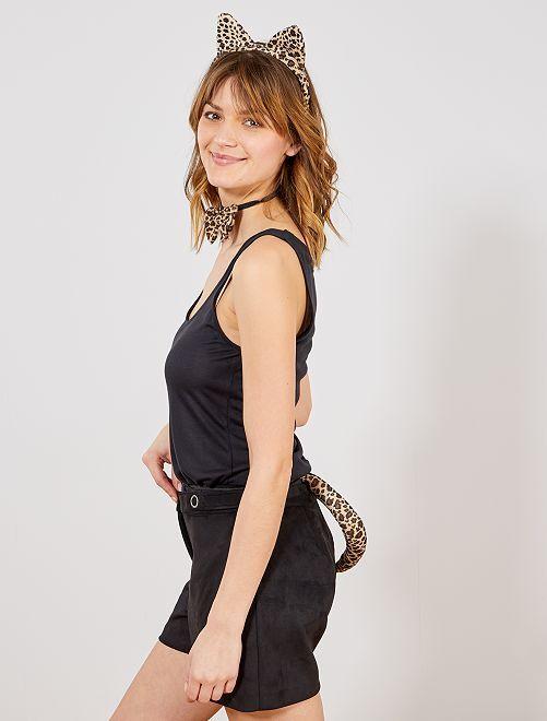 Set léopard                             léopard Femme