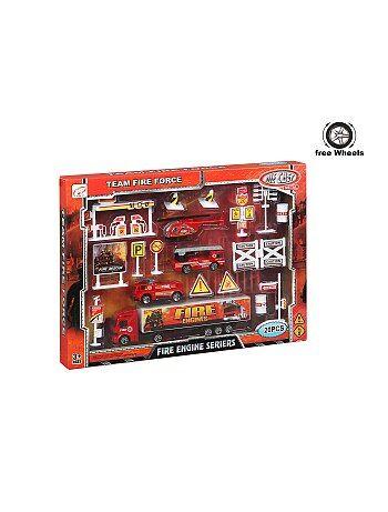 Set 'pompiers' 20 pièces