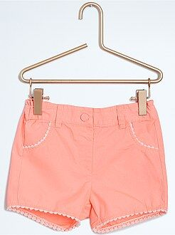Short, bermuda - Short avec finitions fantaisie