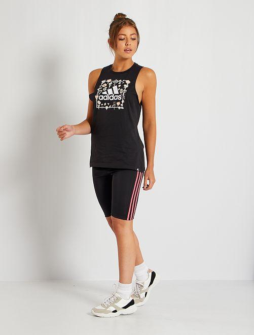 Short cycliste 'Adidas'                             noir