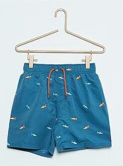 Garçon 3-12 ans Short de bain brodé 'requins'