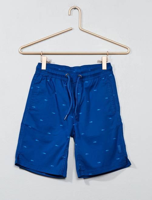 Short de bain imprimé                                                     imprimé bleu Garçon