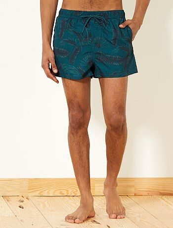 Short de bain imprimé 'tropical' - Kiabi