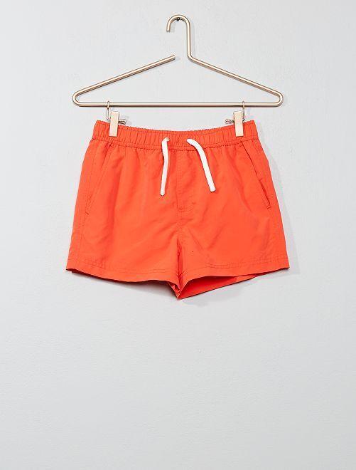 Short de bain                                                     orange Garçon adolescent