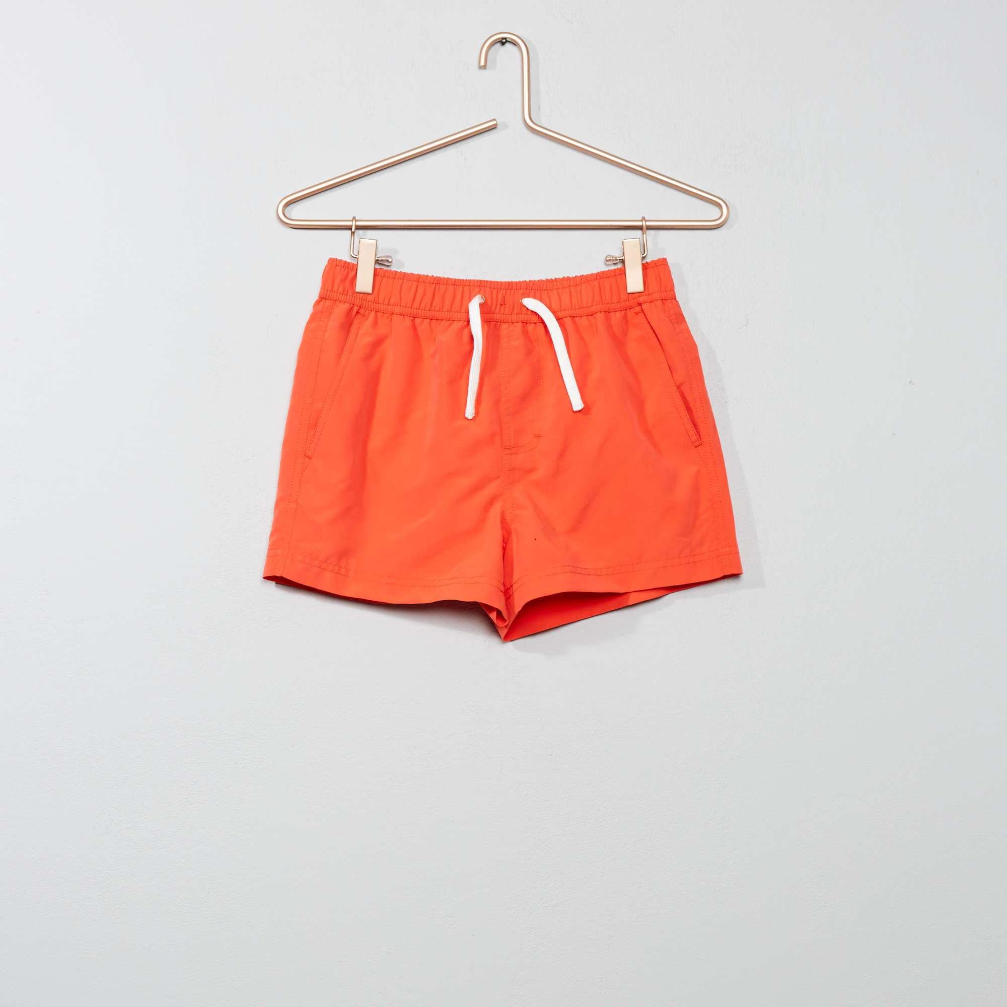 687132c7280f7 Short de bain Garçon adolescent - orange