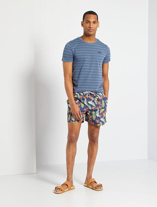 Short de bain 'Produkt'                                                     bleu
