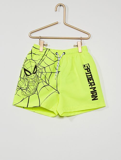 Short de bain 'Spider-Man'                                                     jaune