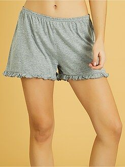 Short de pyjama volanté - Kiabi