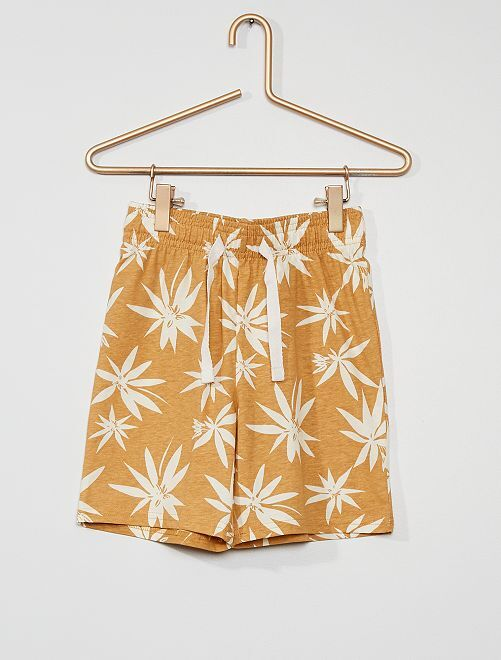 Short de pyjamas                                         beige