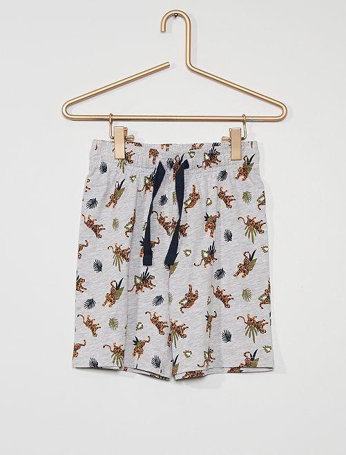 Short de pyjamas                                         gris