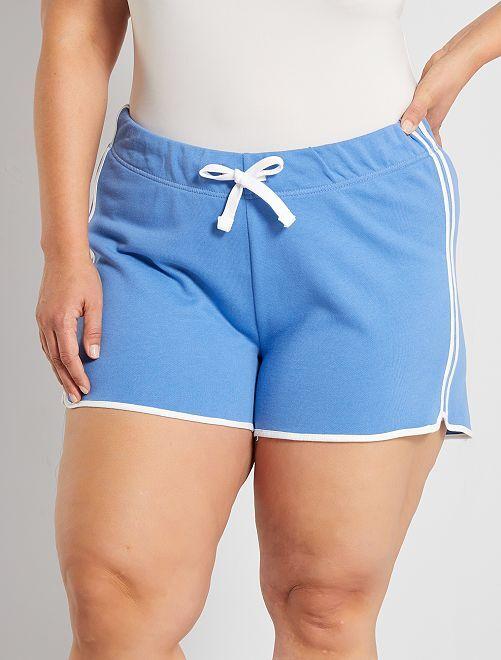 Short de sport éco-conçu                                                     bleu