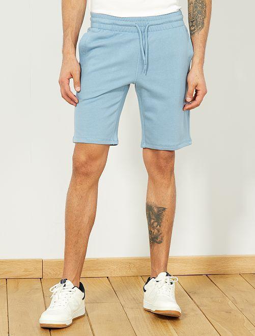 Short de sport en molleton                                                                                                                 bleu gris pâle Homme