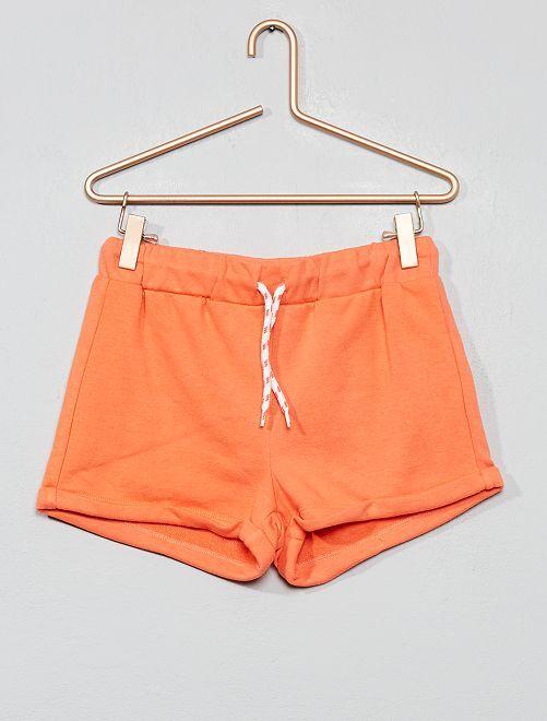 Short de sport                                                                 orange corail