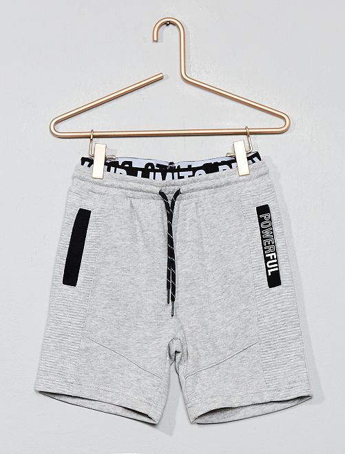 Short de sport 'powerful'                                                     gris Garçon