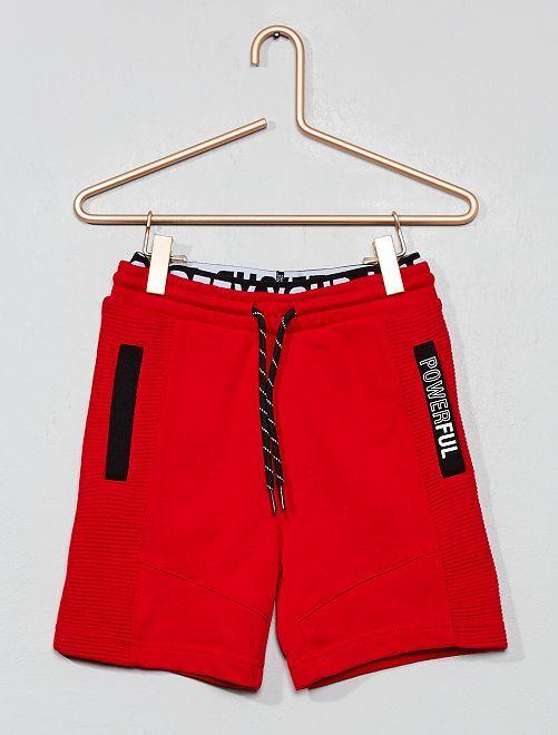 Short de sport 'powerful'                                                     rouge Garçon